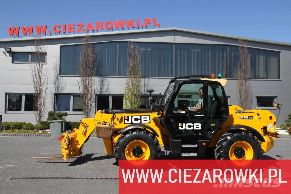 JCB 535-140 Hiviz / 3,500kg-14m / Powershift / 4x4x4