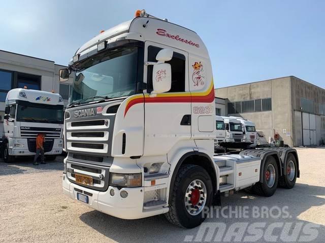 Scania R620 V8 6x4 Retarder 180Ton