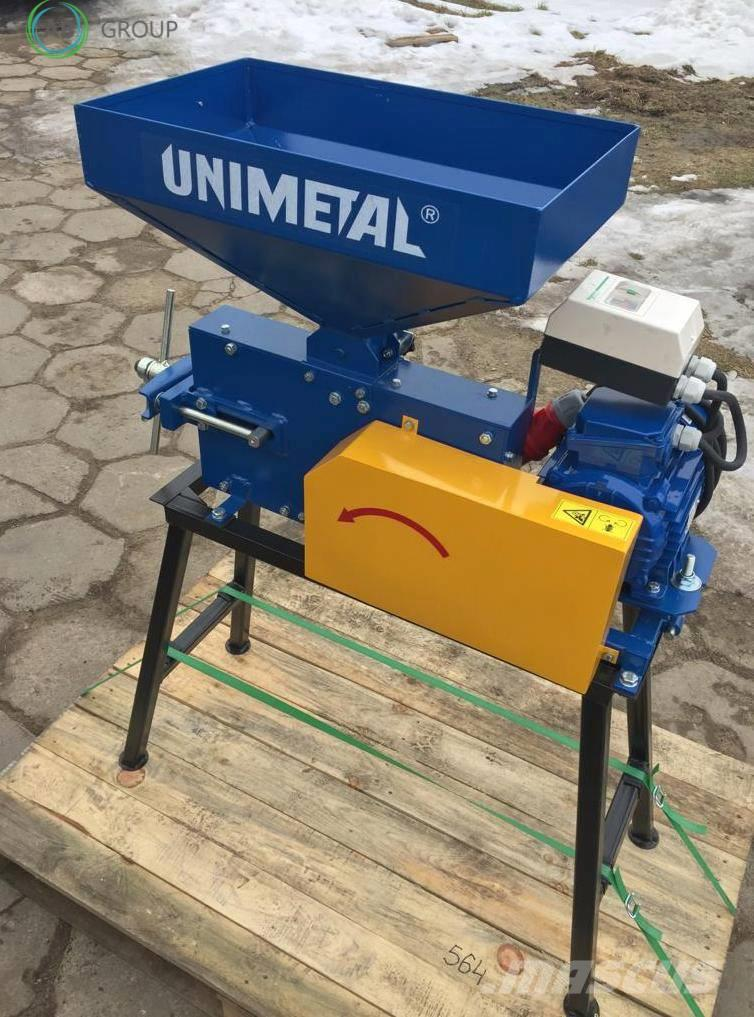 [Other] UNIMETAL Grain crusher 200kg/h/Molino de granos/Zg