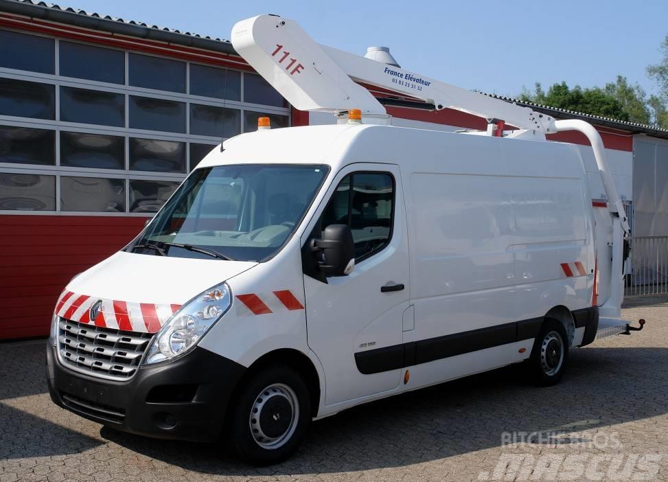 Renault Master 125 Arbeitsbühne 111F 11m EURO5 TÜV UVV