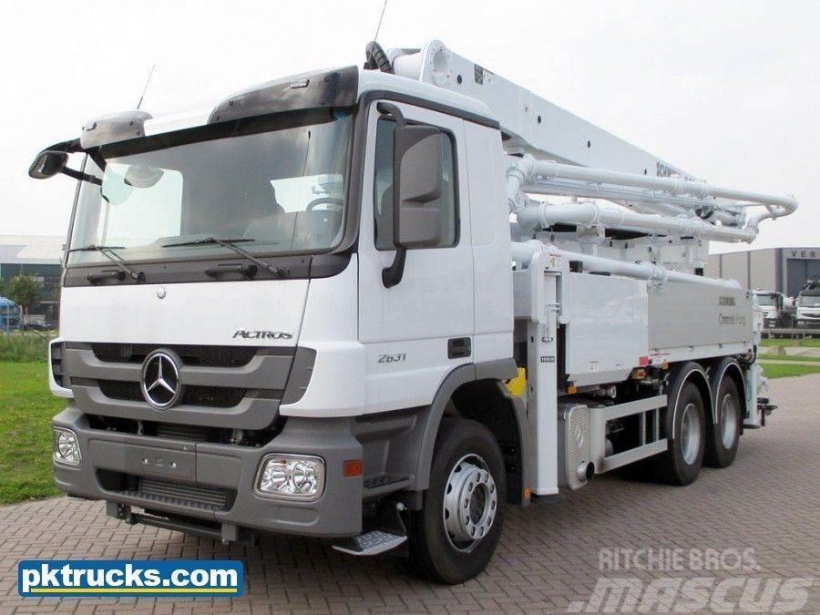 Mercedes-Benz Actros 2631-B 6x4 Concrete Pump - NEW (4 Units)