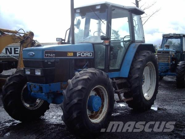 Ford 7740, 1999, Tractors