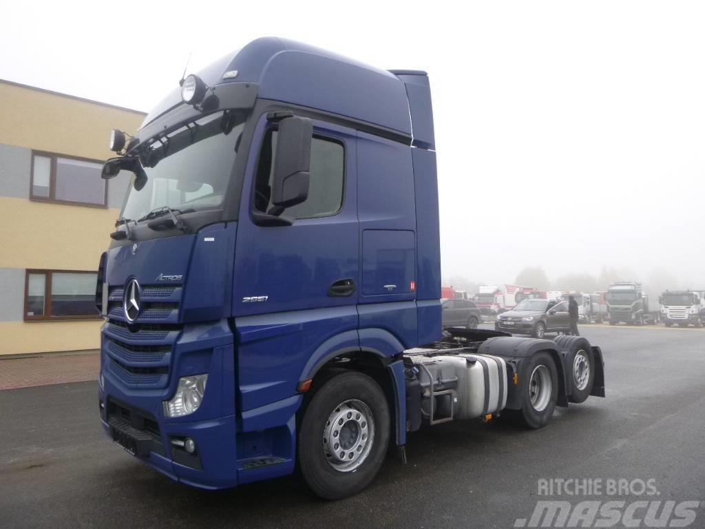 Mercedes-Benz Actros 2551 6x2+EURO5+RETARDER