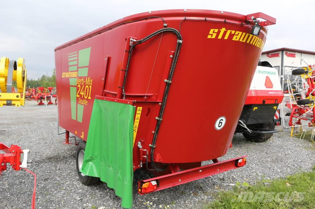 Strautmann Vertimix 2401 Double seosrehuvaunu