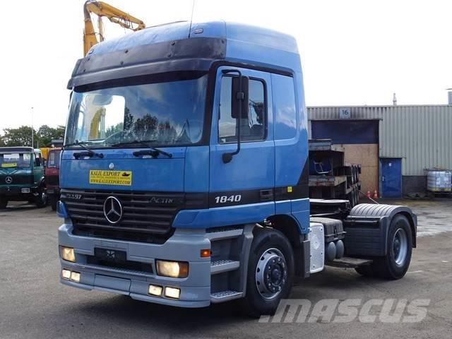 Mercedes-Benz 1840 Actros V6 Manuel Gearbox Big Alxe Good Condit