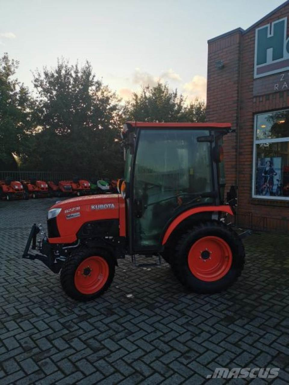 Kubota B2231 H CAB Winteraktion