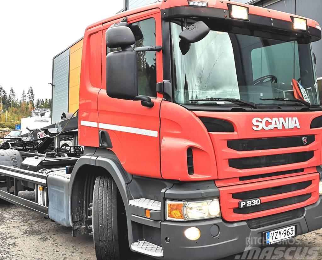 Scania P230 4x2 Multilift vaijerilaite