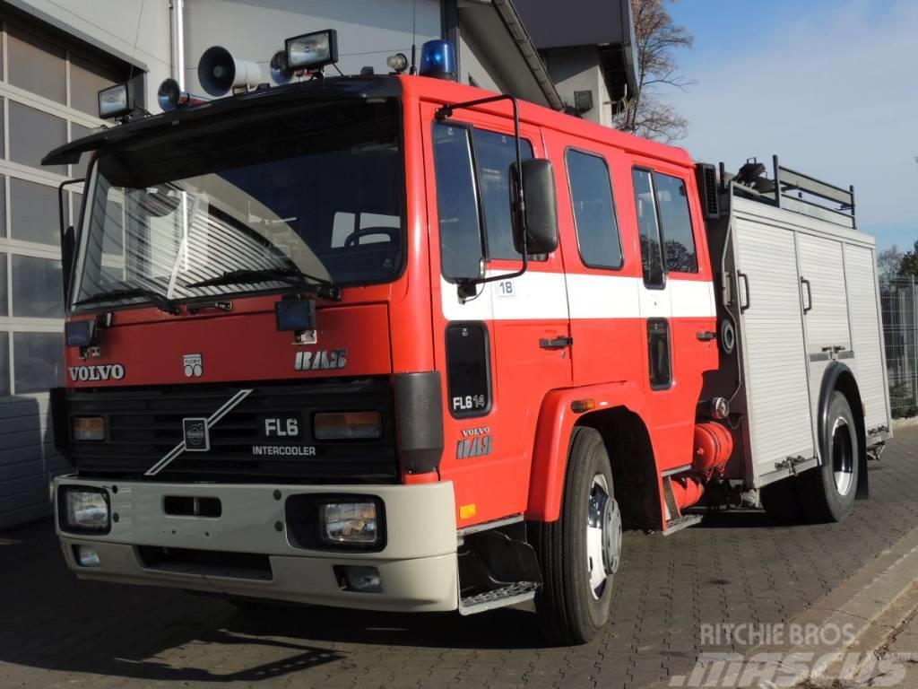 Volvo FL614 Wóz Strażacki – Pożarniczy