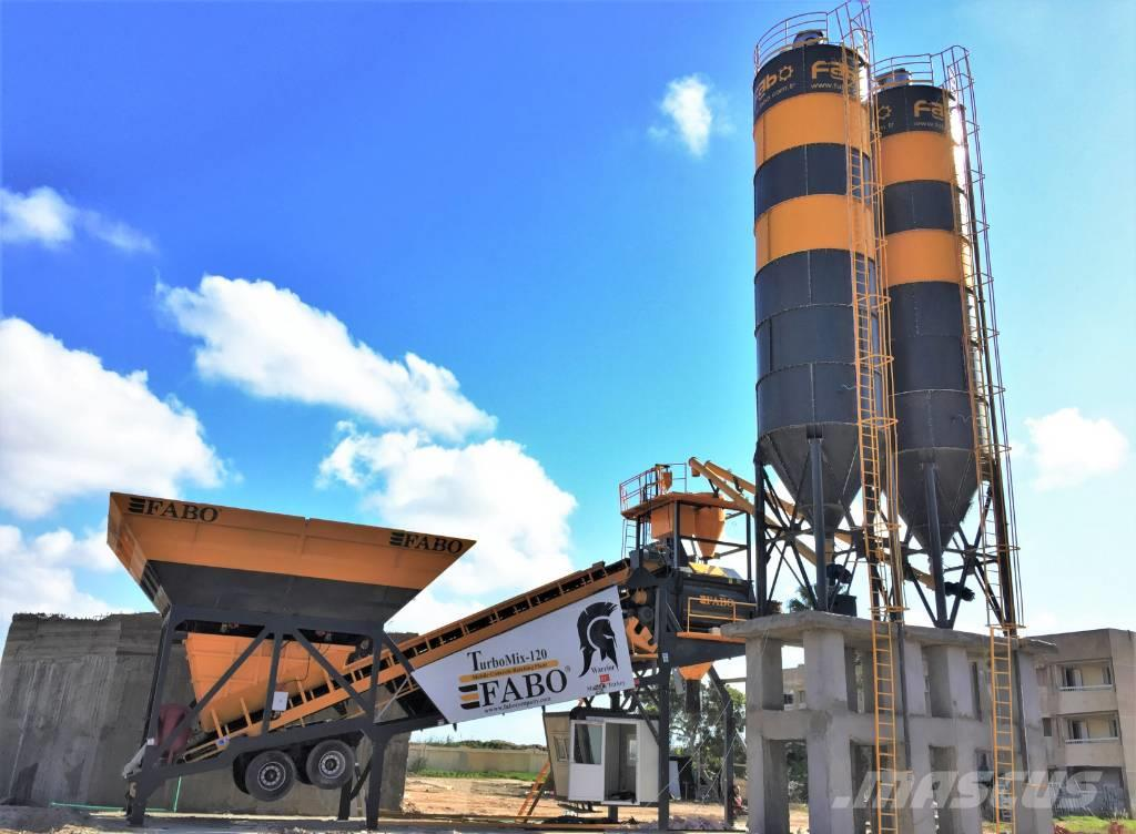 Fabo MOBİLE CENTRALE A BETON TURBOMİX-120M3/H