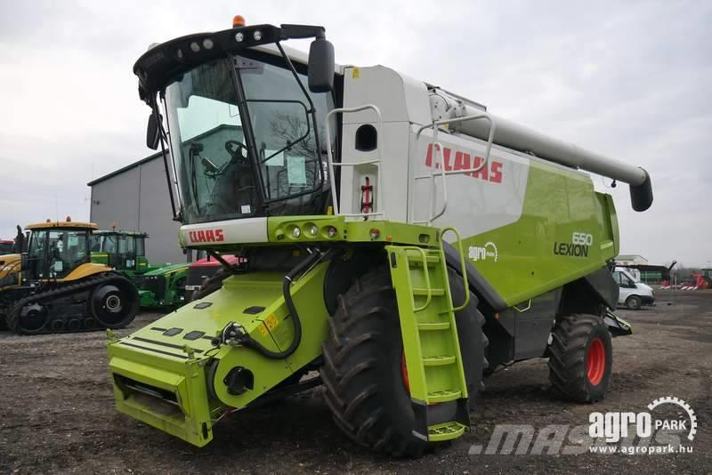 CLAAS Lexion 650, 1762 hectars done (772/1216 hours)