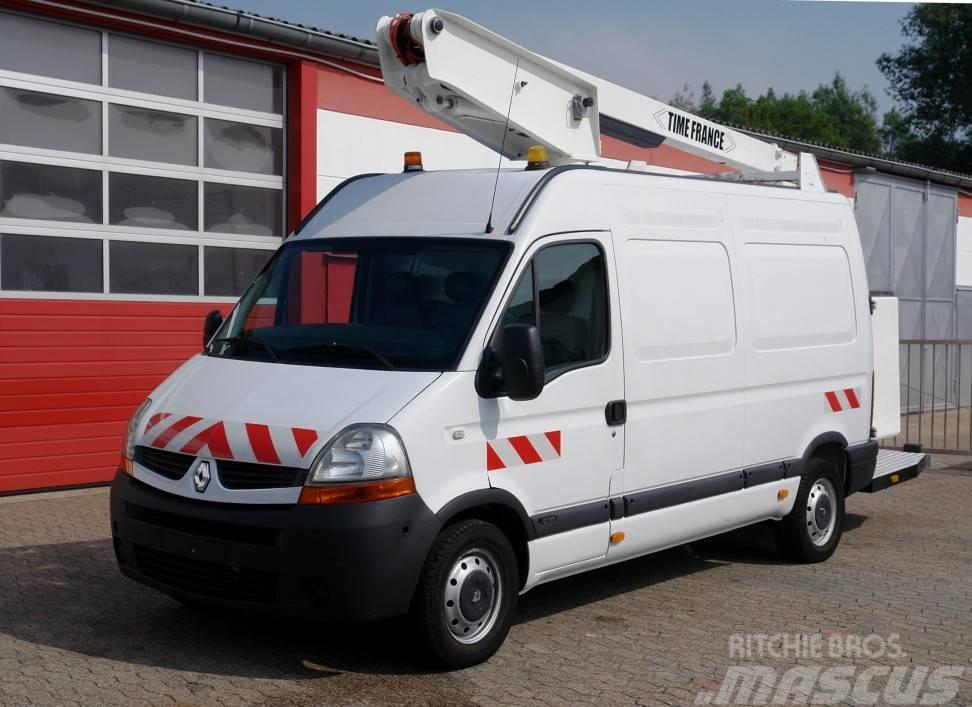Renault Master 120dCi Hubarbeitsbühne 12m TÜV UVV!