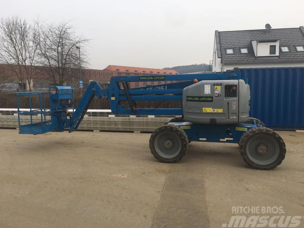 Genie Z45/25J RT 4x4, 16m diesel articulating boom lift