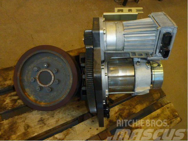 Linde steering electric motor forklift