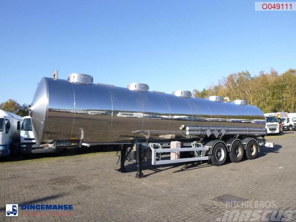 Magyar Chemical tank inox 32 m3 / 1 comp