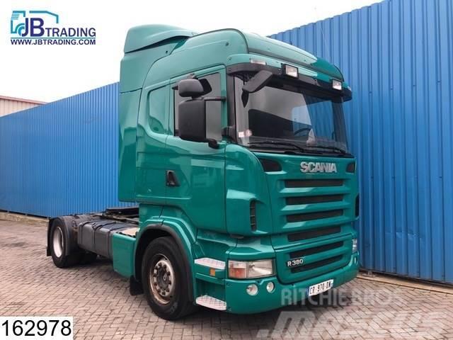 Scania R 380 Airco, Opticruise 3 pedals, euro 4