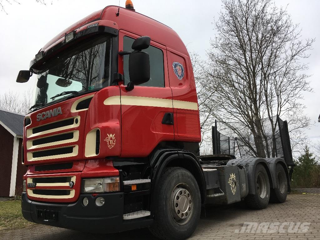 Scania R500 6x4 hydrauliikka,manuaali