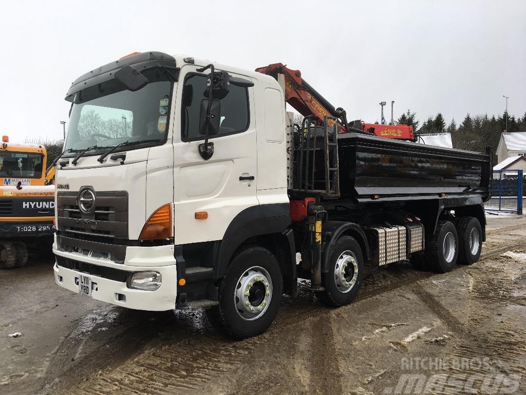 Hino 700 8x4 Grab Lorry