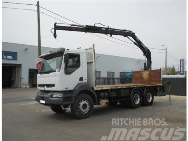 Renault KERAX 420 6x4 + HIAB 102 XS