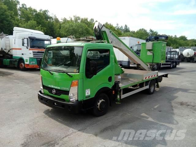 Nissan Cabstar 35.11 WITH MULTITEL LIFT 160ALU/DS - 16 m