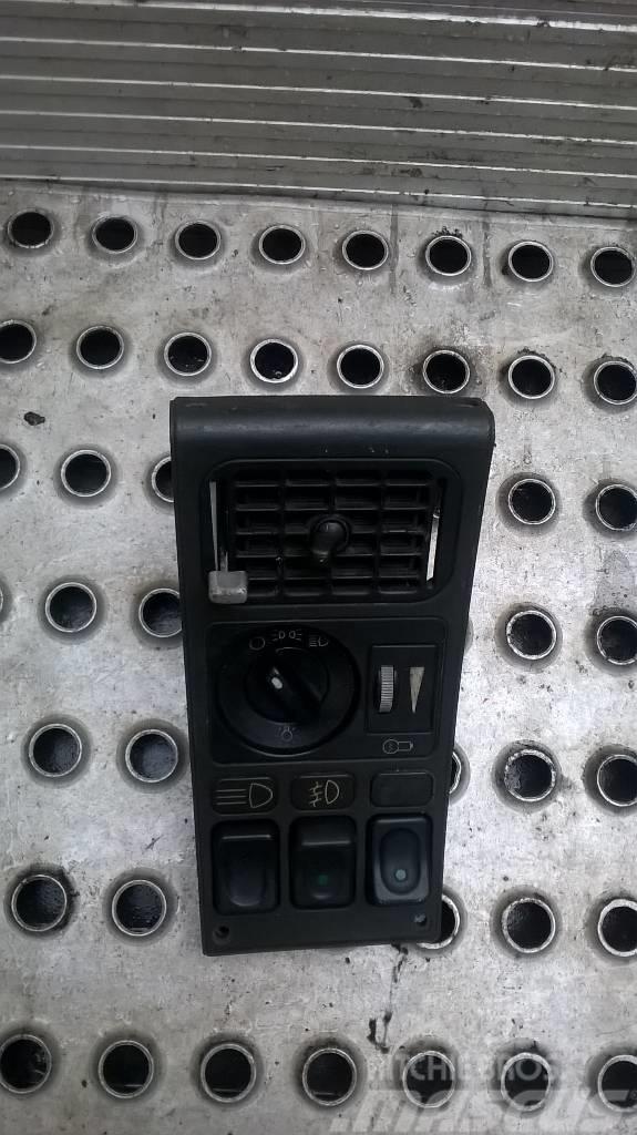 Scania 124 6x2 button panel