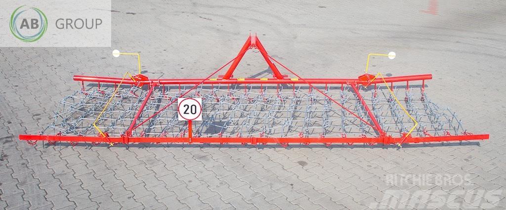 Klimza Weeder  P466, 4,2 m/Hackstriegel/ Brona chwastowni