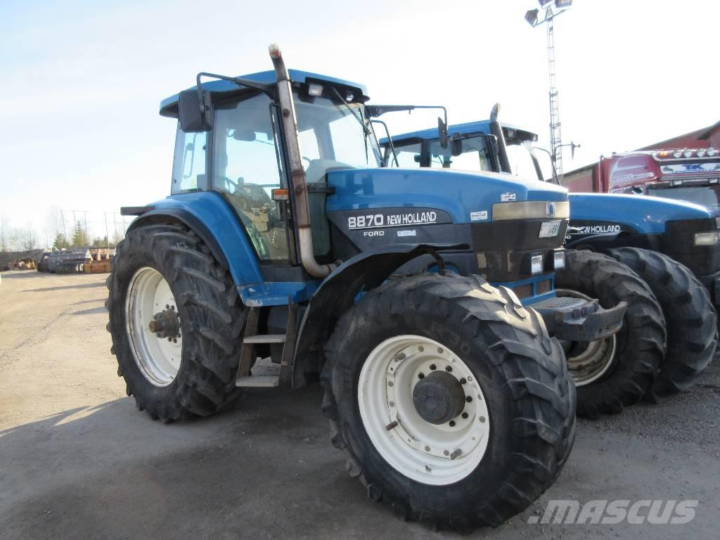 New Holland 8870 Dismantled for spare parts