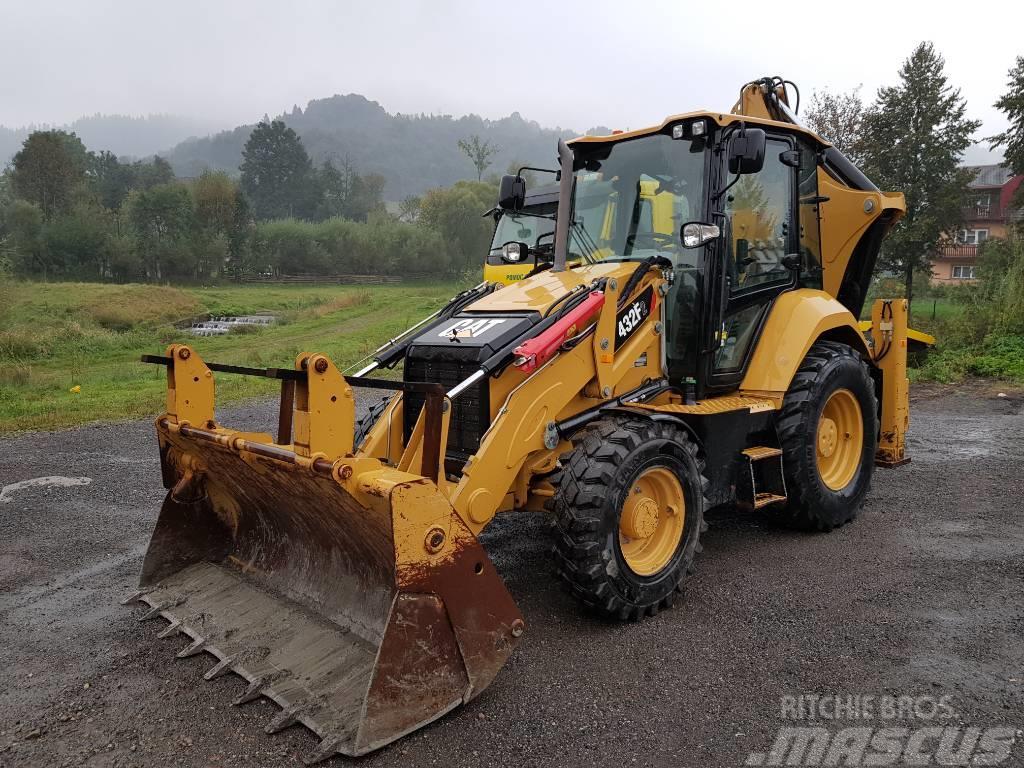 Caterpillar CAT 432 F 2 rok 2016 mth 1460