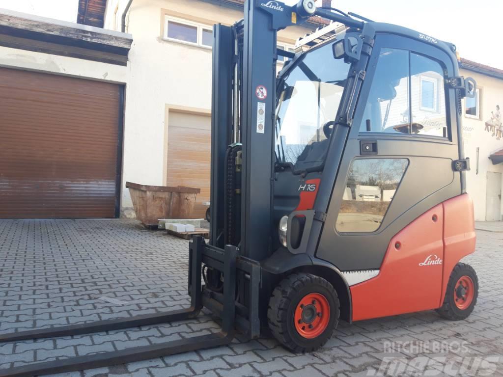 Linde H 16 Diesel Triplex