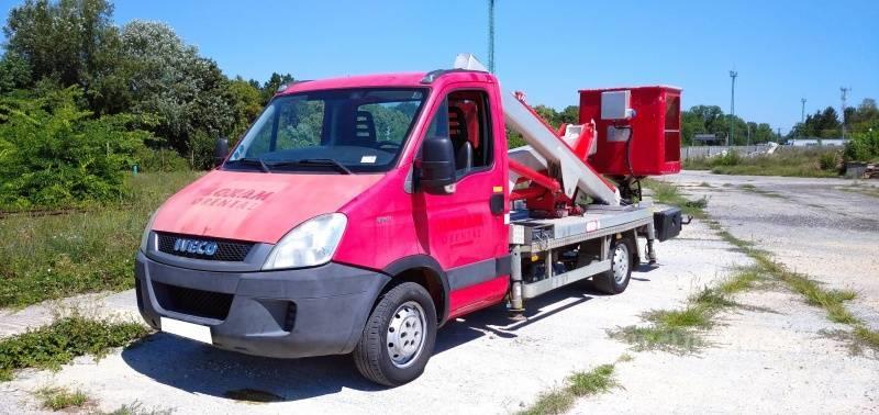 Iveco Daily Multitel MX170 - 17m - 200 kg
