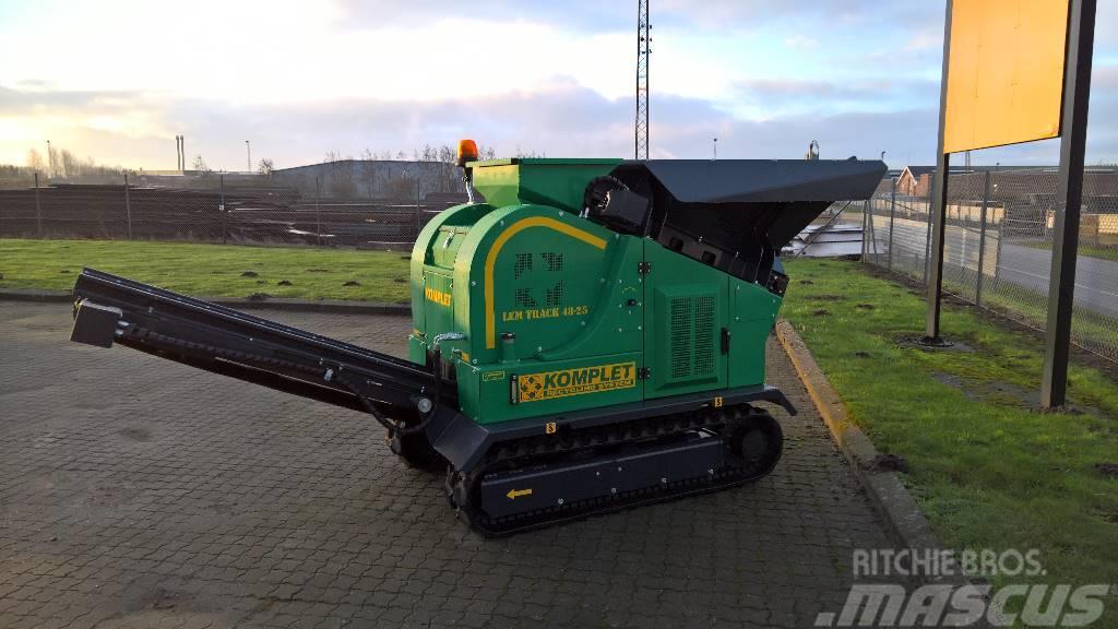 Мобильная дробилка lem track 48-25 дробилки для щебня в Кронштадт