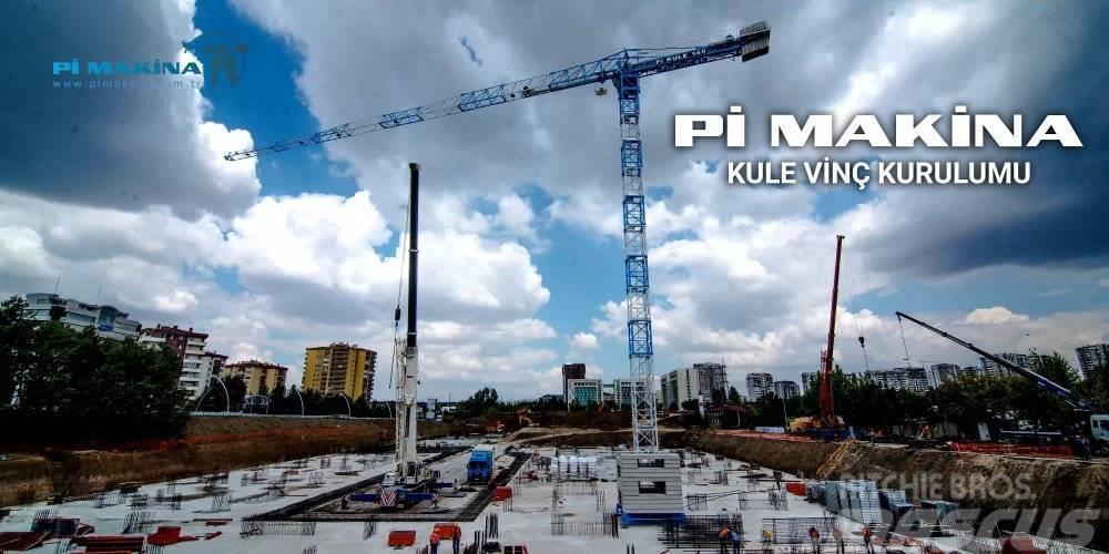 Pi Makina PI-Makina Башенный кран Pi KULE 140