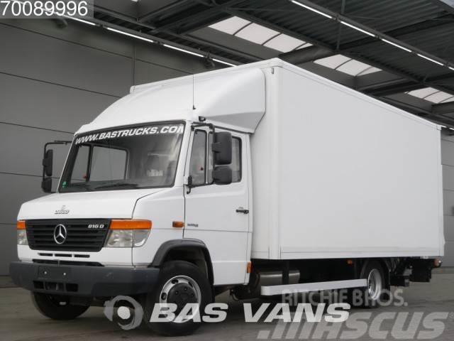 Mercedes-Benz 816 Vario 28,8m3 Trekhaak Bakwagen Laadklep LBW