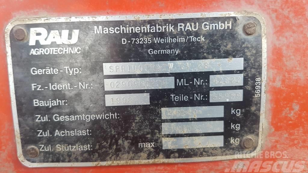 Rau GV 2800/18 permetezőgép