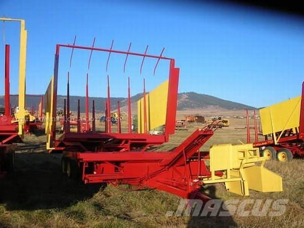 New Holland 1033 Pull Type Bale Wagon