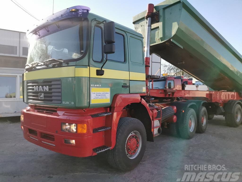 MAN 26.414/FE410 6x6 Manual Gearbox Steel/Air