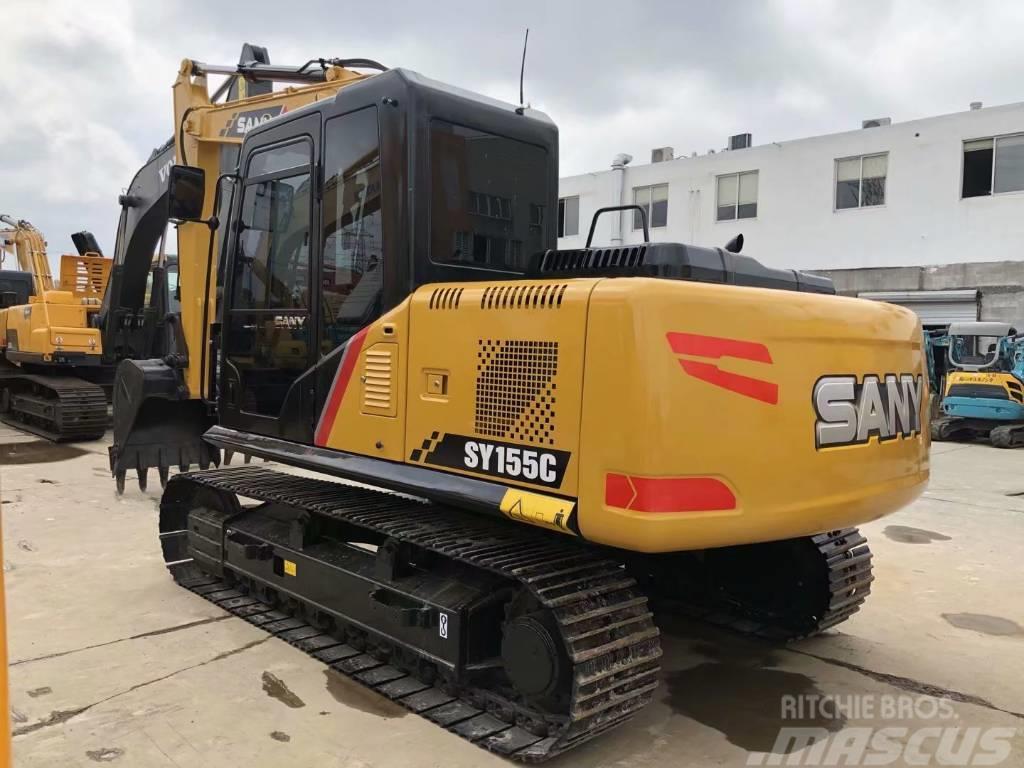 Sany SY155C  SY135C履带挖掘机