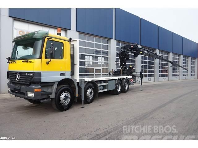 Mercedes-Benz Actros 4140 8x4 Hiab 40 ton/meter laadkraan