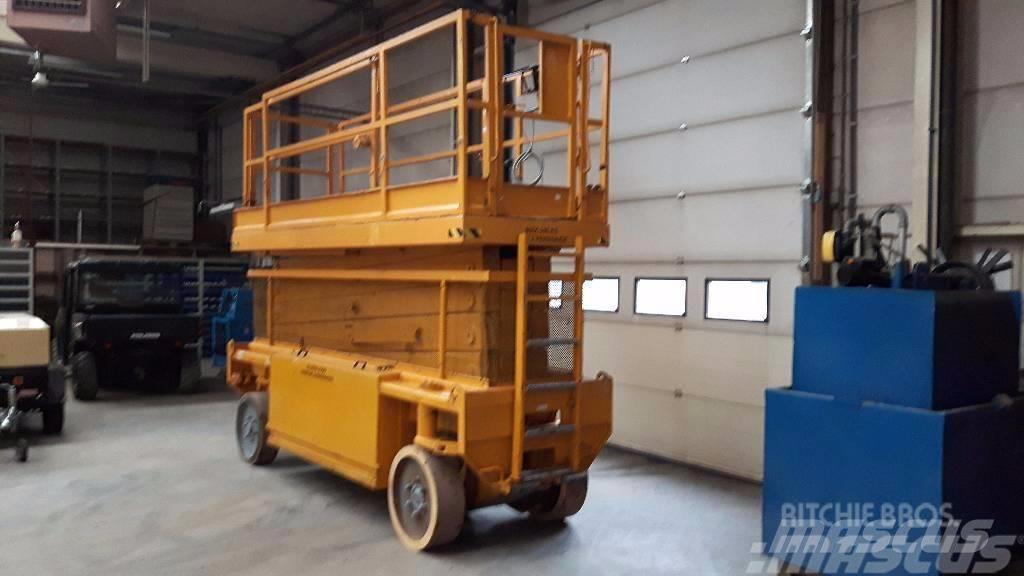 Liftlux Speciale hoogwerker,1.20 breed 17 meter wh.