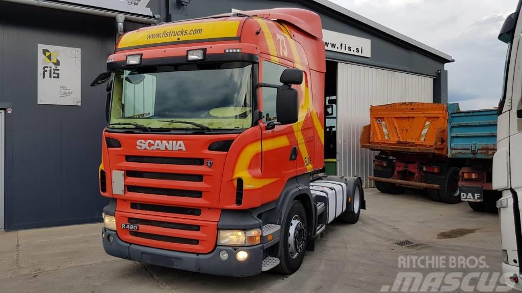 Scania R 420 4x2 tractor unit- euro 4