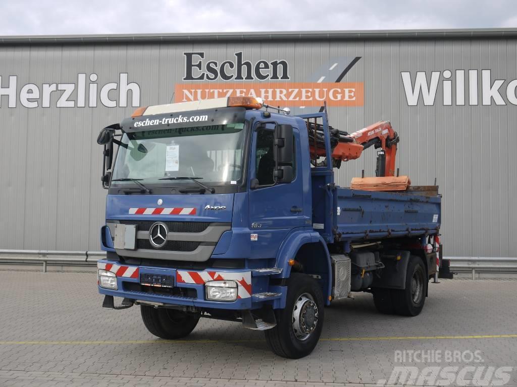 Mercedes-Benz Axor 1833AK, 4x4, Atlas 126.3 Kran
