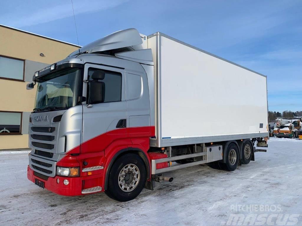 Scania R560 6x2+EURO5+Thermo King+FRC