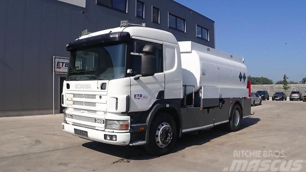 Scania P124-360 124 - 360 (MANUAL PUMP / MANUAL GEARBOX /