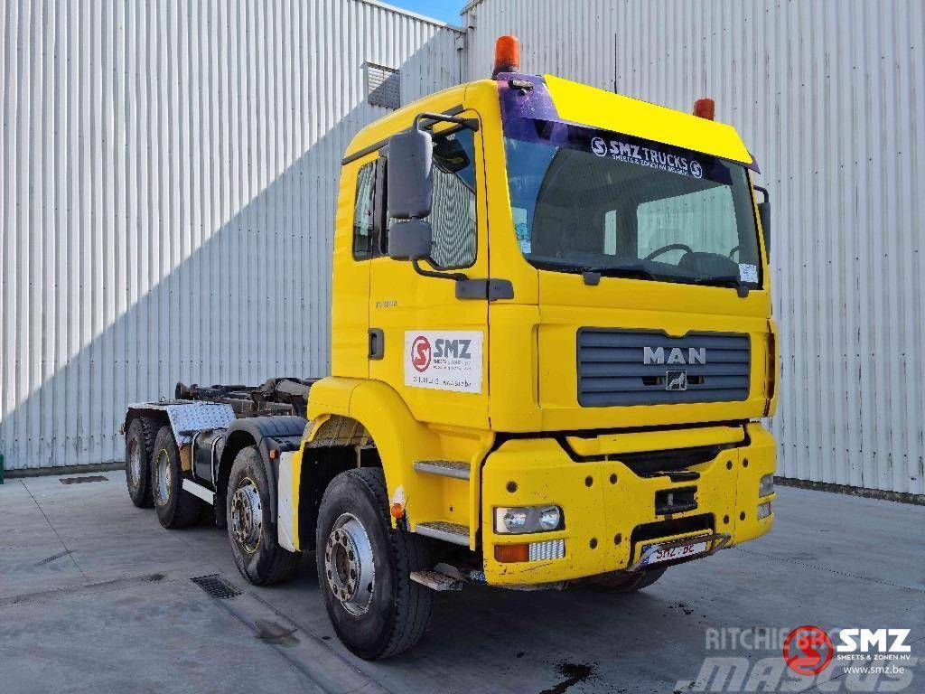 MAN TGA 35.360 8x4 francais multilift