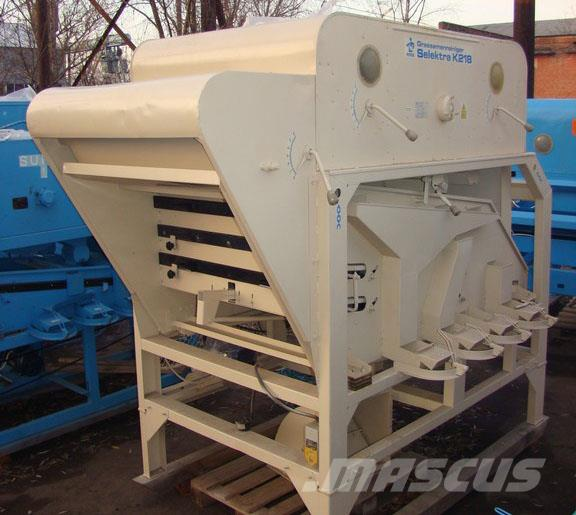 Used Petkus к 218 Selektra Grain Cleaning Equipment For