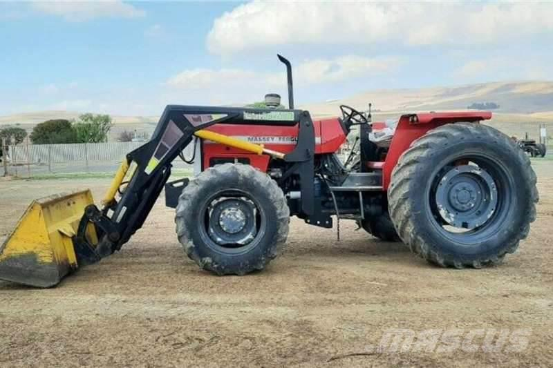 Massey Ferguson 375 Tractor With Staalland Loader