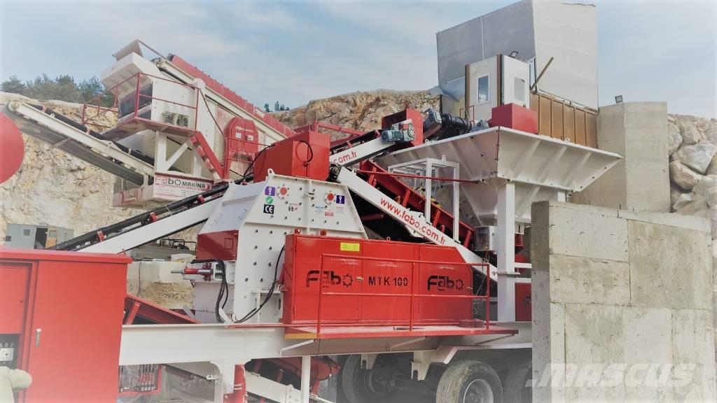 Fabo MTK 100 MOBILE CRUSHING & SCREENING PLANT – SAND M