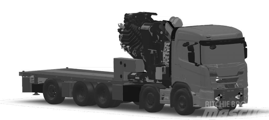 Scania R 580 B10x4*6NA CR20N Palfinger 135002 PJ 150