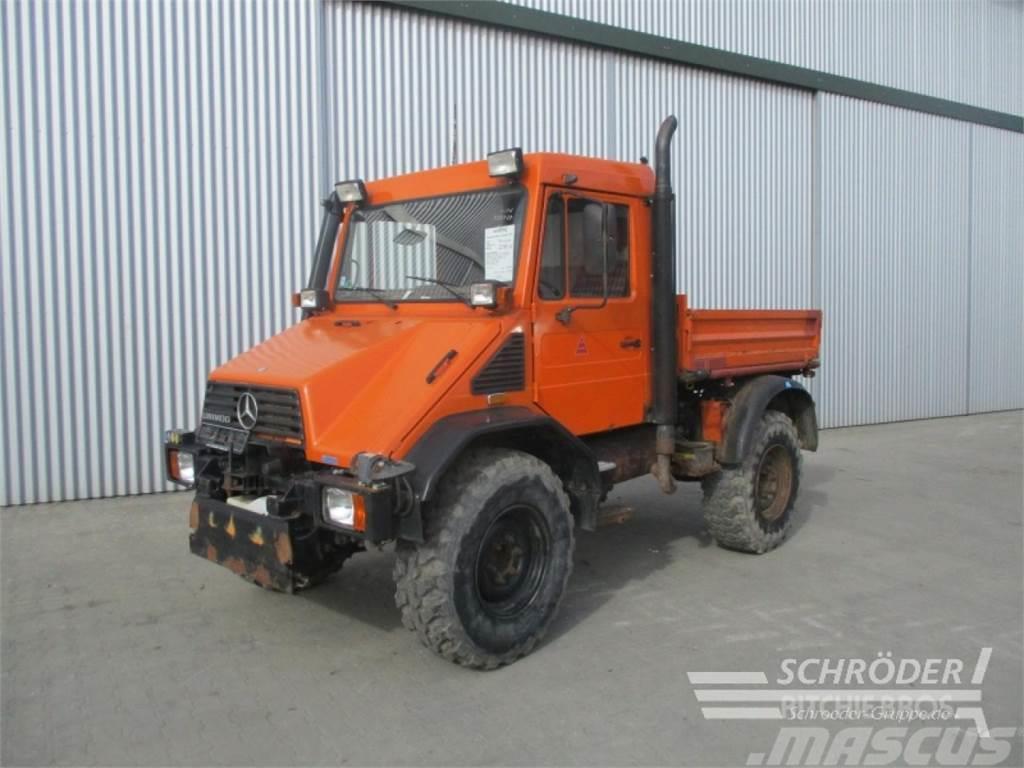 mercedes benz unimog 418 10 gebrauchte traktoren. Black Bedroom Furniture Sets. Home Design Ideas