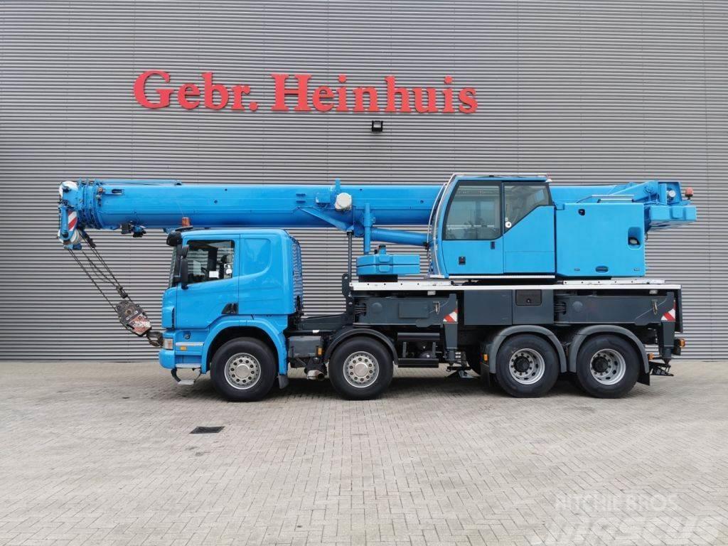 Liebherr LTF 1045-4.1 + Scania P380 8x4
