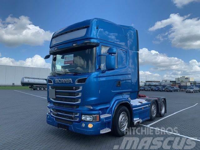 Scania R520 V8 R520,6X2/4, retarder,Ful lair